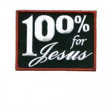 100% for Jesus Md Patch