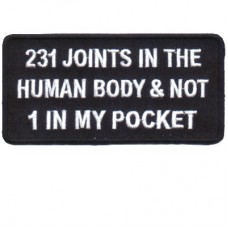 231 Joints in Human Body None in My pocket