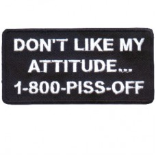Dont Like my Attitude patch