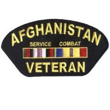 Afghanistan Veteran ball cap patch