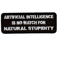 Artificial Intelligence no match for Natural Stupidity