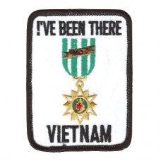 Ive Been There Viet Nam White Patch