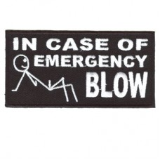 In Case of Emergency BLOW patch