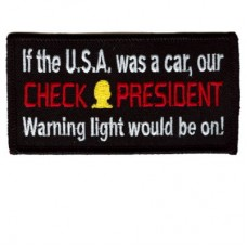 Check President patch