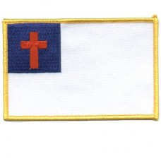 Christian Flag Back Patch