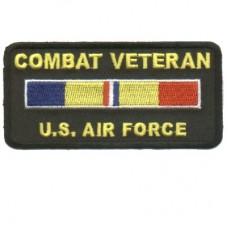 Combat Veteran US Air Force Patch