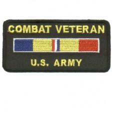 Combat Veteran US Army Patch