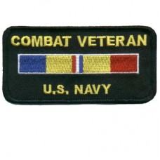 Combat Veteran U.S. Navy Patch