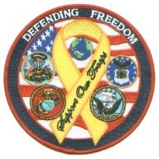 Hero Defending Freedom Ribbon Small