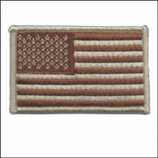 US Flag Desert or Olive Regular Patch