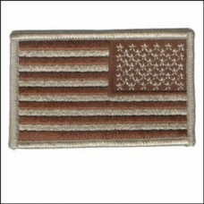 US Flag Desert or Olive Reverse Patch