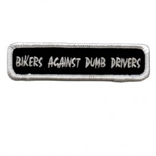 Bikers Against Dumb Drivers small Patch