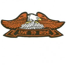 Eagle Live to Ride patch