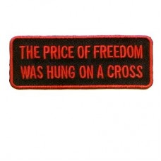 Price of Freedom Hung on Cross