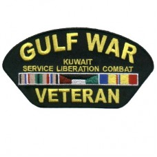 Gulf War Vet 3 x 5 Patch