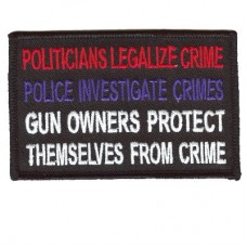 Gun Owners Protect Themselves patch