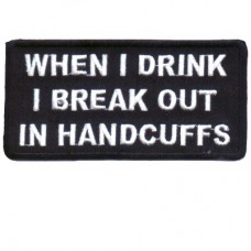 Break out in Handcuffs patch