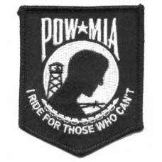 I Ride for Those POW Patch