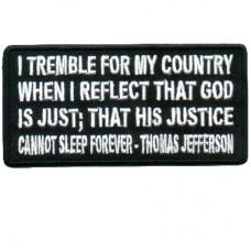 Thomas Jefferson God Is Just