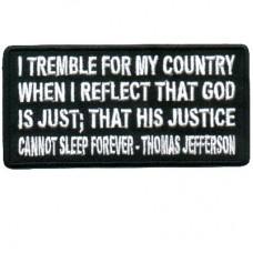 Thomas Jefferson God Is Just