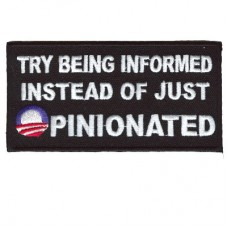 Try Being Informed instead of Opinionated patch