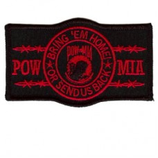POW Bring us Home or send us back - Red patch