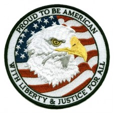 Hero Proud American Eagle Sm Patch