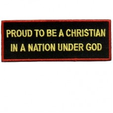 Proud Christian In Nation Under God