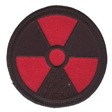 Radiation patch red