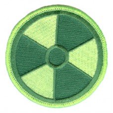Radiation green on green patch