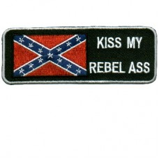 Kiss My Rebel patch