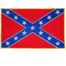 Confederate Flag Lg Patch
