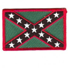 Rebel Flag-Red and Green sm