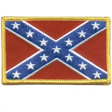 Confederate Flag Sm Patch