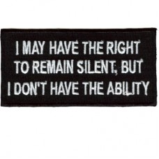 Right to Remain Silent-Don't have Ability patch