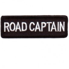 Black Road Captain patch