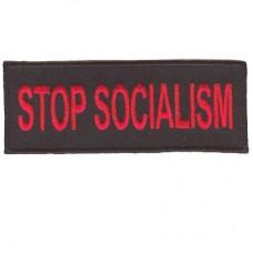 Stop Socialism patch