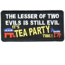 Lesser of 2 Evils Still Evil-Tea Party time patch