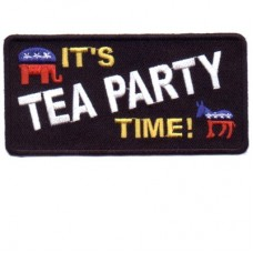 Its Tea Party Time patch