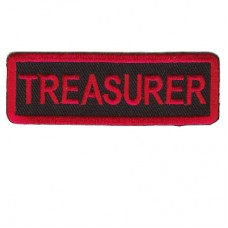 Red Treasurer patch