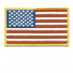 Stock Flag Patches