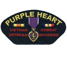 Purple Heart Viet Nam 3 x 5 Patch