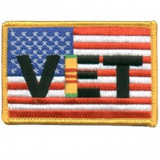 US Flag Viet Nam Vet Md Patch