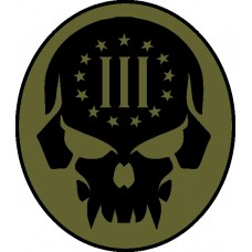 III Punisher Patch
