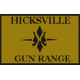 Hicksville Gun Range Hat Patch