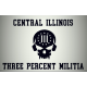 Central Illinois III% Militia Hat Patch