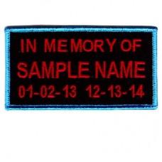 Custom Memory - Regular 3 Line
