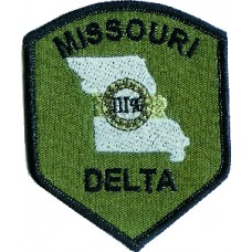 III Missouri County Patch 3 inch by 4 inch