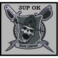 Bravo Company 3.5 x 3.5 inch patch