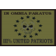 National Patch III% United Patriots 3x2